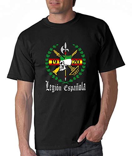 Spanish Army Soldier Legion Espanola 1920 T-Shirt Sommer Baumwolle Mann T-Shirt Elastizität Lose druckende Hemden Bequemes Rundhalsausschnitt für Party