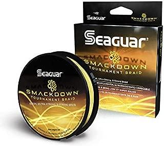 Seaguar  Smackdown Braided Fishing Line, Hi-Vis Yellow, 15-Pound/150-Yard