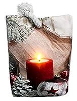 Fermaporta natalizio con motivo decorativo con manico a corda, moderno e splendido accessorio di Natale, con l'illuminazione a LED bianco caldo otterrete un magnifico effetto invernale. La catena di luci del cuscino ha un pratico timer, sul timer di ...