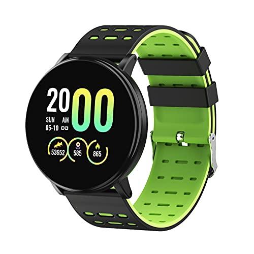 Smart Watch - 119plus Smart Watch Tasa del corazón Pulsera inteligente Pantalla táctil de alta definición IP67 Detección de sueño Modo Multi-Sport Mode IPX67 Impermeable Impermeable La batería grande