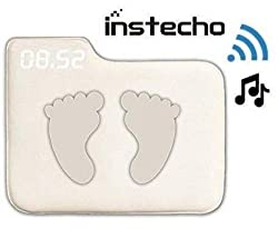 Alarm Clock for Heavy Sleepers,Instecho Rug Carpet Alarm Clock - Digital Display,Pressure Sensitive Alarm Clock with The Softest Touch for Modern Home, Kids, Teens, Girls and Guys