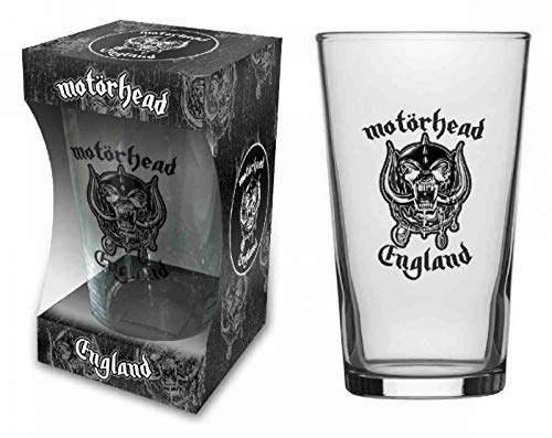 For-collectors-only Motörhead - Vaso de cerveza (tamaño XL), diseño con logotipo de Warpig