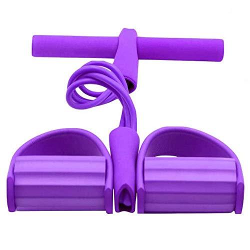 Multifonctionnelles de Résistance, Mise à Niveau 4 Tubes Exerciseur Multifonction Jambe,Sit-up Bodybuilding Expander,Matériel D'entraînement élastique Pull Rope,Bande de Résistance de Pédale