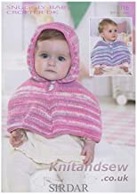 Sirdar Snuggly Baby Crofter DK Knitting Pattern 1316