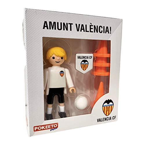 Eleven Force - Pokeeto Jugador del Valencia Cf, Figura de Juguete