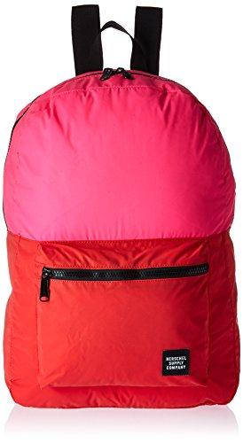 Herschel Daypack Rucksack Stoff Rosa – Rucksäcke (Stoff, Rosa, Uniform, Unisex, Vordertasche, Reißverschluss)