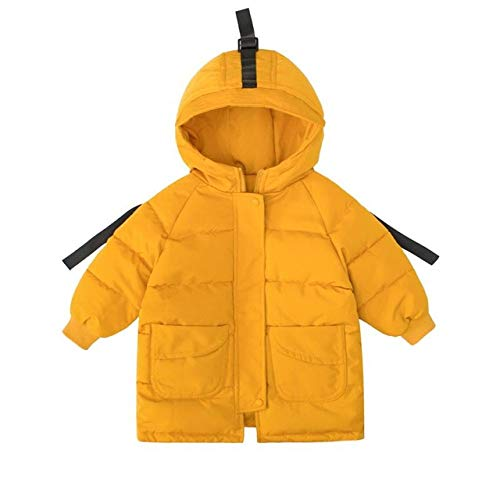 Vêtements pour Enfants Hiver avec Capuche vêtements en Coton Vestes d'hiver pour Les Enfants Mignons Filles pour Les garçons Veste Infantile