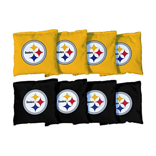 Victory Tailgate Pittsburgh Steelers Replacement All-Weather Cornhole Bag Set