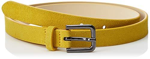 Cinturón United Colors of Benetton amarillo para mujer