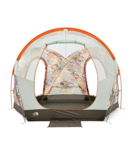 The North Face Homestead Super Dome 4, Sweet Lavender Cloud Camo Print/New Taupe Green, OS