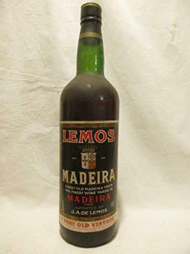 100 cl lemos (années 1950 à 1960) VD blanc années 50 - madeire portugal