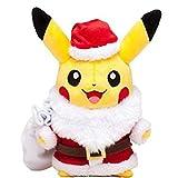 xuekun Pokemon Pikachu Cosplay Santa Vestido Felpa 25Cm Anime Up Niños