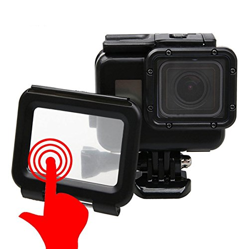 Outtek Waterproof Case for Gopro, Shoot Portable 40M Underwater Waterproof Protective Housing Case Cover with Bracket for GoPro Hero 5 Hero 7 – Black
