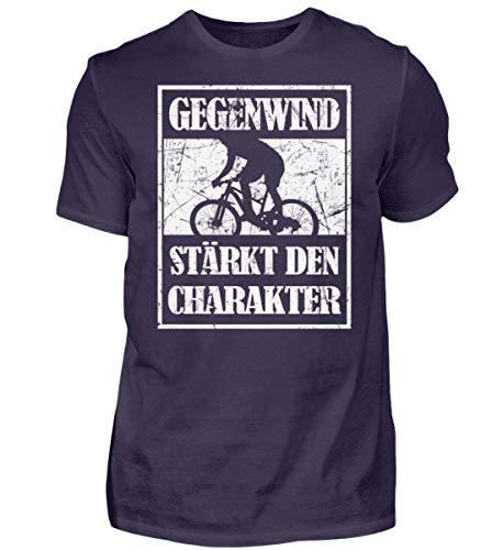 ROCK-WITCHES Ogenwind rafforza il carattere. Idea regalo per ciclisti, ciclisti, mountain biker. Grunge – Maglietta premium da uomo melanzana S