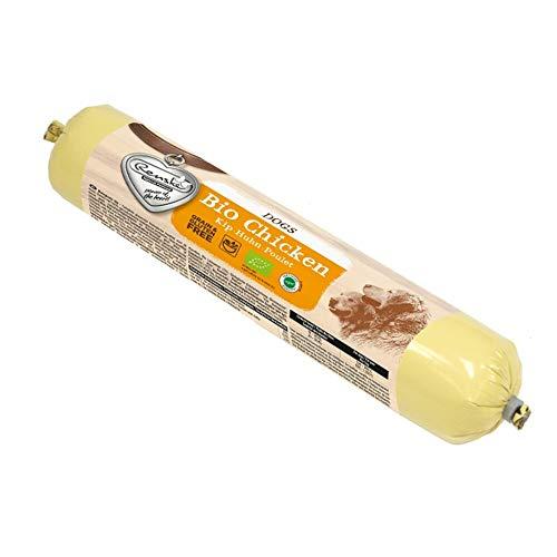 RENSKE biologisches Hundefutter - Huhn - 500 g (Wurst)