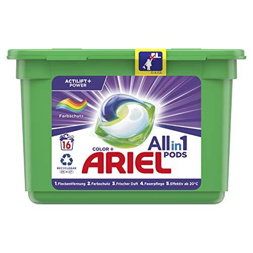 Ariel All-in-1 PODS Color-Farbschutz - 16Waschladungen