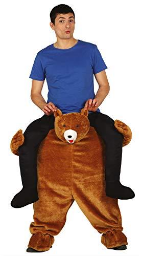 Guirca - Kostüm für Erwachsene, Carry Me Bär, Größe 52-54 (88286.0)