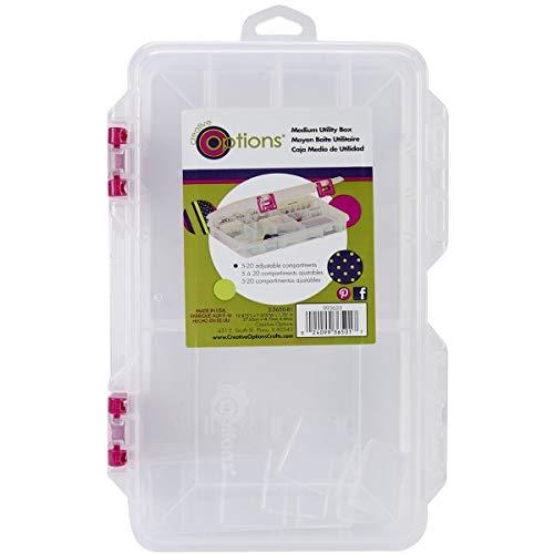 Creative Options Pro Latch Utility Box 6-20 Compartments-10.875
