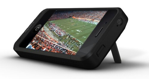 XtremeMac IPP-IM4-13 InCharge Mobile Zusatzakku und Hülle für iPhone 4/4S mit eingebautem Ständer (2300mAh, Made for iPhone)