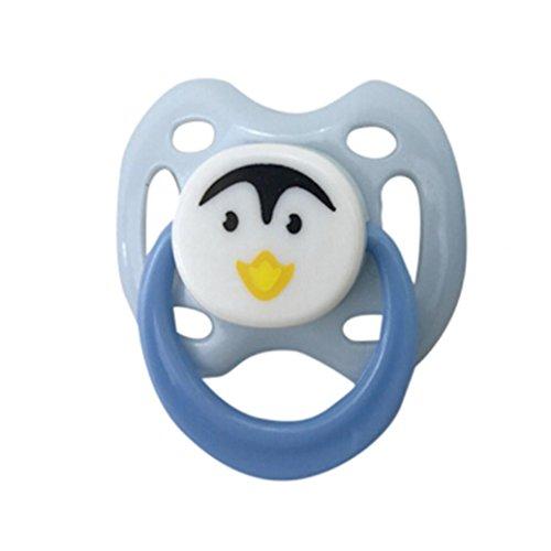 CLOOM Schnuller Puppe 1PC Dummy für Reborn Babypuppen mit internem magnetischem Zubehör PK Magnetischer Schnuller der Schnuller Dekompressions Spielzeug Interessantes Neues Spielzeug Baby (D)