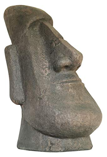 aubaho Moai Skulptur Figur Garten Antik-Stil 63cm Rapa NUI Polynesien Osterinsel Chile