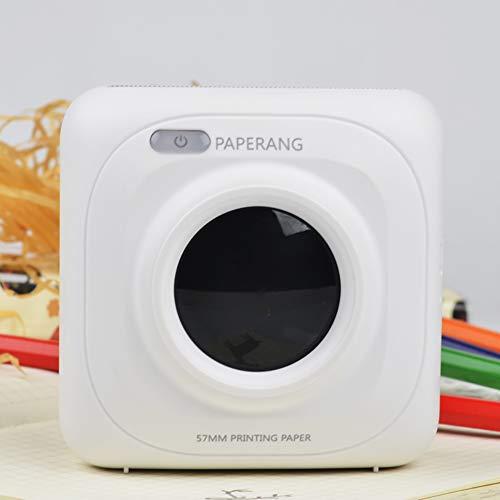 Paperang P1/P1s mobiler Mini-Drucker für iPhone, iPad, Mac, Android-Geräte, mit Druckpapier- P1 gewöhnlich (weiß)