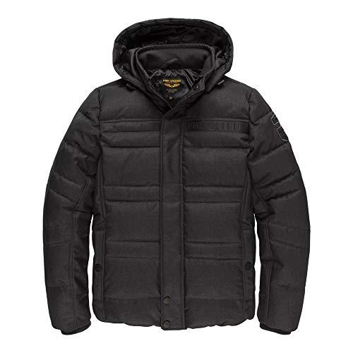 PME Legend Hooded Jacket Melange Twill Liftmaster - Steppjacke, Größe_Bekleidung:XXXL, Farbe:Meteorite