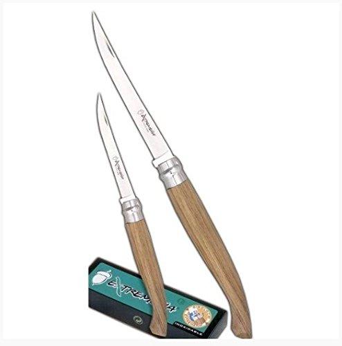 Imex El Zorro girolock – Couteau à Jambon, Marron, 15 cm