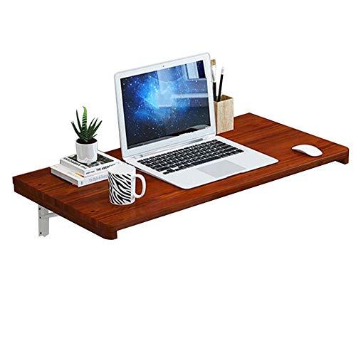 Vibrerende bureau/opbergtafel, eenvoudige wandtafel, opvouwbaar, multifunctioneel, kantoor, keuken, plank van grenen, 4 kleuren, 15 maten (kleur: A, grootte: 70 x 50 cm) 90x40cm B