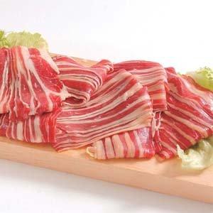 牛バラスライス 2mm 1kg(オーストラリア産) バーベキュー (nh122175)BBQに最適【牛肉】