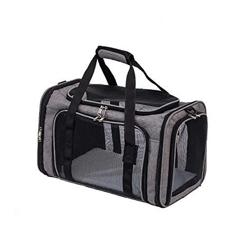 CHENSQ Cat harness, pet bag harness, dog and cat backpack shoulder strap handbag, breathable portable outdoor camping pet harness