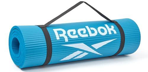 Reebok Alfombra de entrenamiento-10mm-Azul, Unisex-Adult, Azul, 10 mm