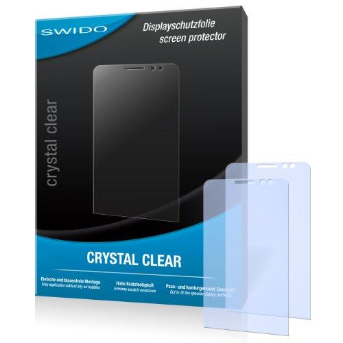 SWIDO Bildschirmschutz für BlackBerry Z30 [4 Stück] Kristall-Klar, Hoher Festigkeitgrad, Schutz vor Öl, Staub & Kratzer/Schutzfolie, Bildschirmschutzfolie, Panzerglas Folie