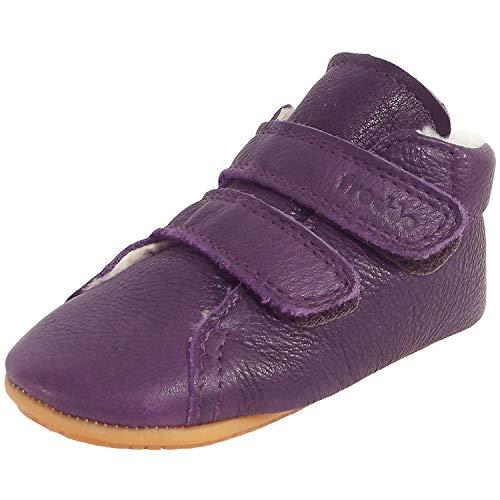 Froddo Prewalkers Winter G1130013-7 - Zapatos de piel de cordero para bebé, color Morado, talla 24 EU