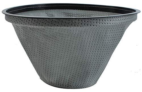 Kaminer Textilfilter Materialfilter für Aschesauger passt Staubsaugermodelle 9243, Größe:15L/10L