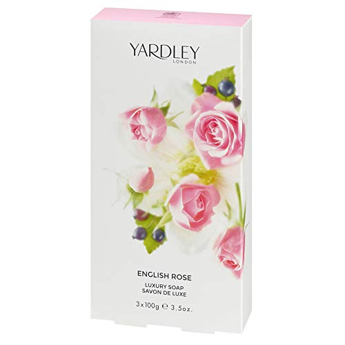 Yardley English Rose Seifen 3X100g, 300 g