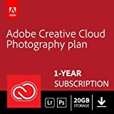 Get all your photography essentials with the new Adobe Creative Cloud Photography plan 1 year pre-paid licence, including the all-new Adobe Photoshop Lightroom CC, 20GB of cloud storage, Photoshop CC, and more Anywhere editing: Create incredible phot...