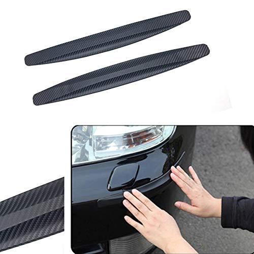 PoeHXtyy Auto vorne hinten Ecke stoßstange Schutz kohlefaser kollisionsschutz Streifen Aufkleber stoßstange Schutz