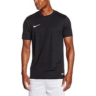 Nike Men's Park VI Park VI T-shirt, Black (Black/White), L
