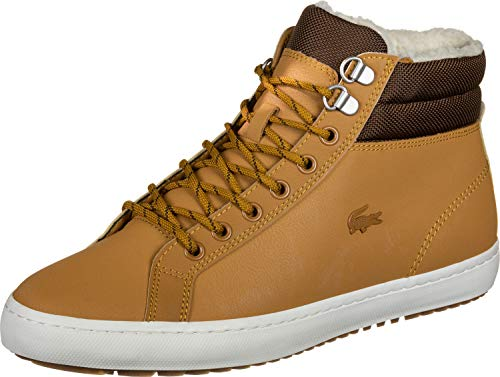 Lacoste Straightset Thermo 419 1 Schuhe TAN/BRW