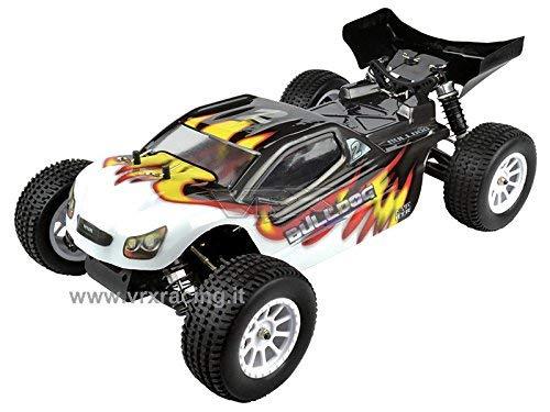 VRX Truggy 1/10 off Road con Motore a Scoppio Go.18 a 2 Marce – Radio 2.4 GHz – 4WD – RTR – RH1022 Bulldog N.2