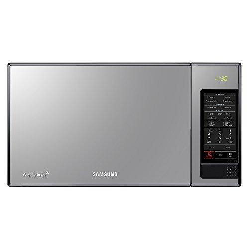 Samsung Ms32F303Taw/Ax Horno De Microondas Con Ceramic Inside, Color Blanco