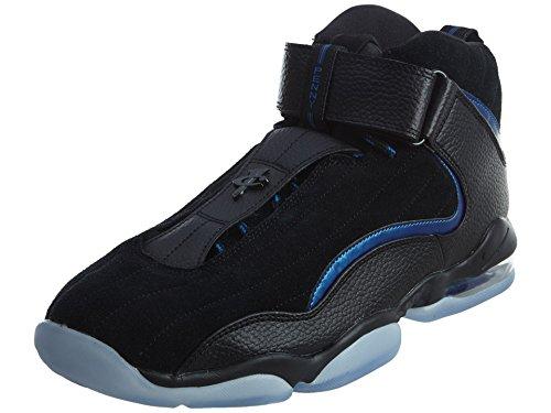 Nike Men's Air Penny IV Black/Black Basketball Shoe 10.5 Men US