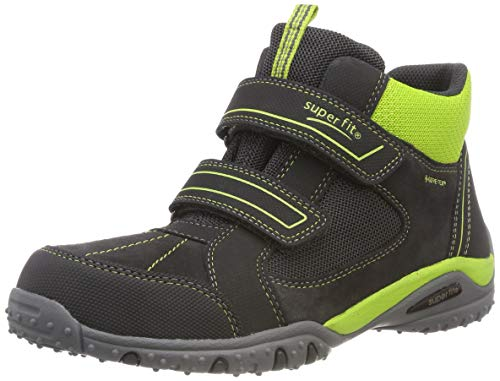 Superfit Jungen SPORT4 Hohe Sneaker, Grau (Grau/Grün 20), 35 EU