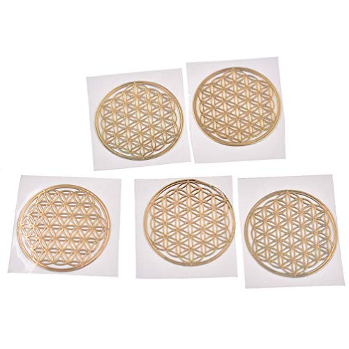 4# Misright Energy Tower Pattern Paste Copper Stickers For DIY Making Mould Craft Jewelry Tool