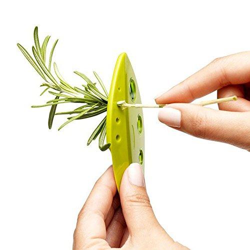 SHOP-STORY - Décortiqueur de Branche et d'Herbes pour Les Tiges de Blette, Epinard, Romarin etc