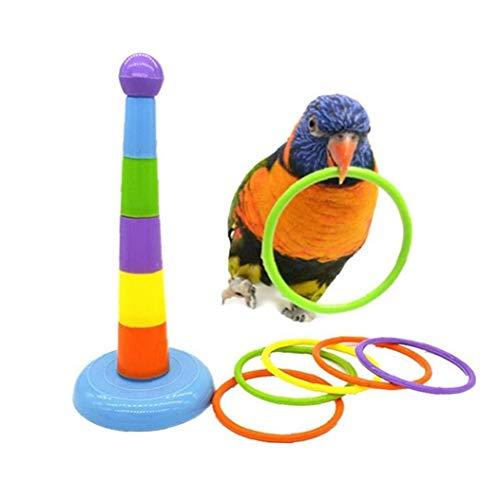 Hotaden Parrot Giocattoli Educativi Training Interactive Intelligence Starling Poco Sviluppo Giocattoli Uccelli Compagnia Giocattoli
