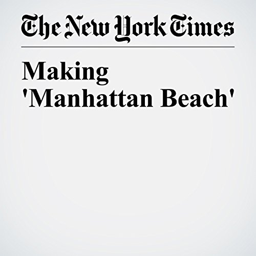 Making 'Manhattan Beach' audiobook cover art