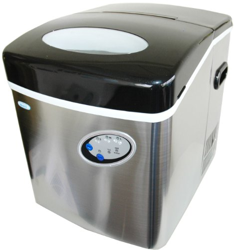 NewAir AI200SS Stainless Steel Portable Ice Maker