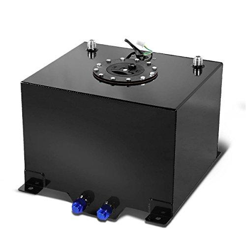 DNAMotoring ALU-FT-T3-BK Aluminum 8-Gallon Fuel Cell Gas Tank